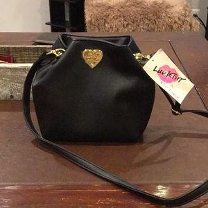 NWT Betsey Johnson Bucket Bag